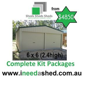 6x6x2.4 shed  also available carports patio's Cedar Grove Logan Area Preview