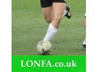 Join a football team in Newcastle, Sunday leagues near me 7JR