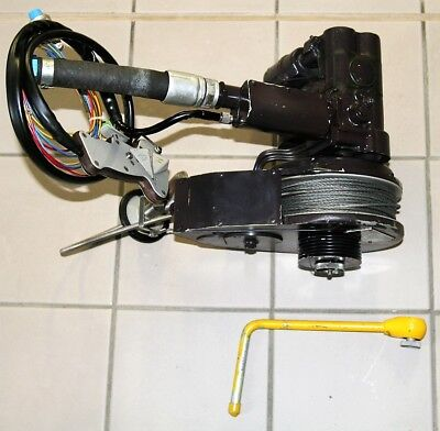 Helikopter  Seilwinde, Helicopter winch, Pneumatic,  NOS
