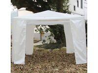3x3m Waterproof Outdoor PE Garden Party Gazebo Marquee Canopy