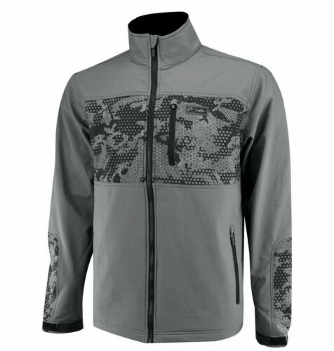 Pelagic Insulator Soft Shell Hydro Repel Men Full Zip Fishing Jacket SZ S/M/XL