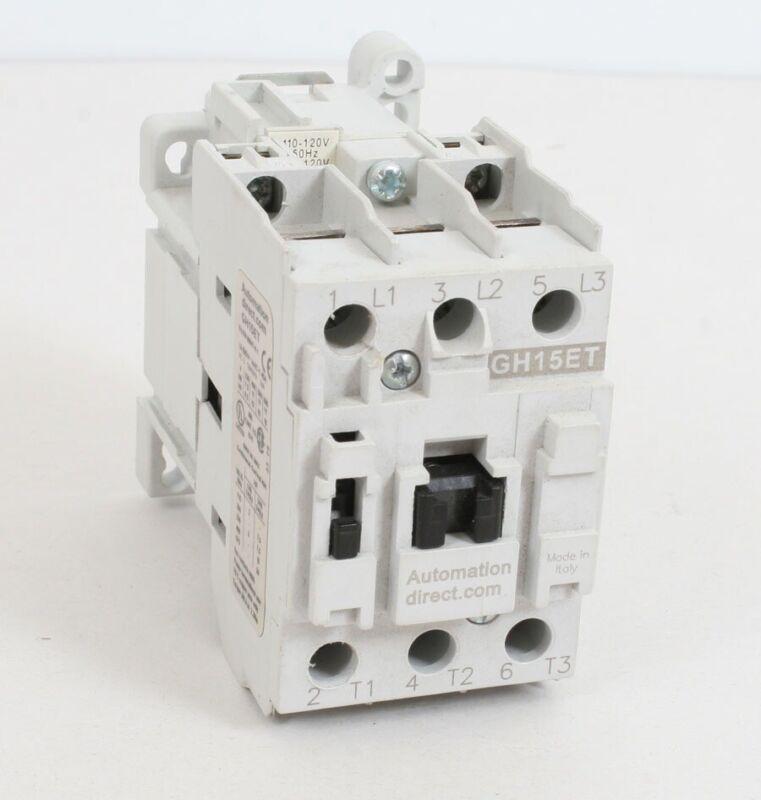 Automation Direct GH15ET-3-00A Contactor 25A