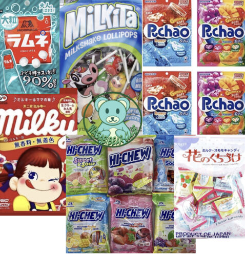 Asian Candy Box: 50pcs Candy Only Korean, Japanese, Chinese Candy.