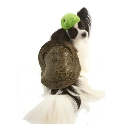 Halloween Kostüm Schildkröte für Hunde - XXS - XL - 2 Teile Satz ()