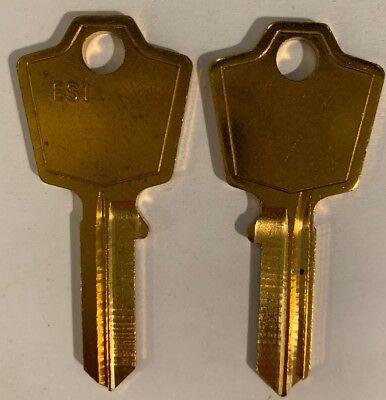 Ilco Es1 Uncut Key Blanks Fits Esp Hon Locks Qty 10
