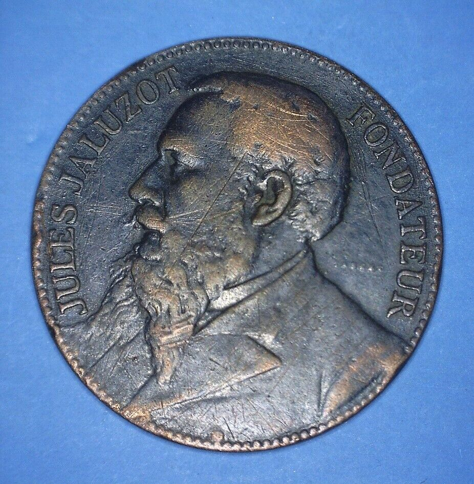 1890 SILVER ANNIVERSARY OF PARIS IN SPRING - JULES JALUZOT FOUNDER - 04559400 - $8.00