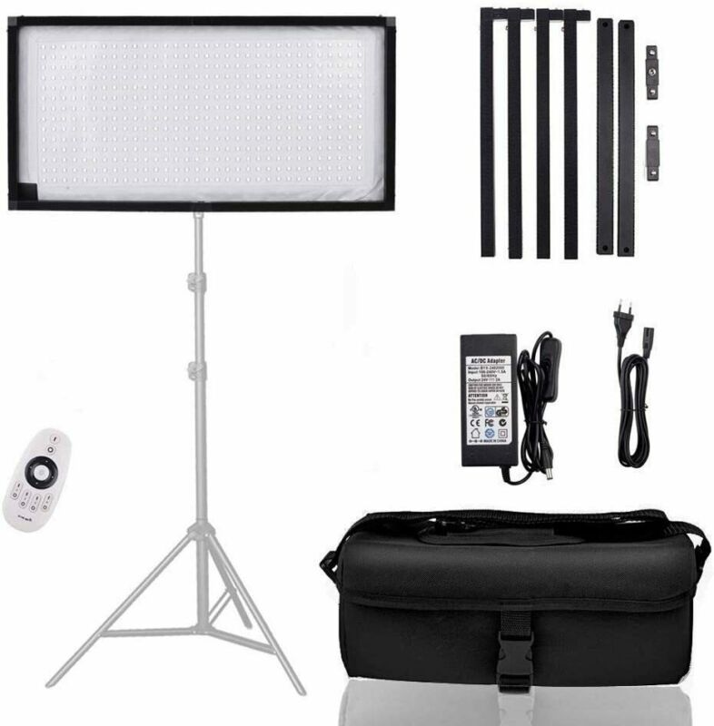 FOSITAN LED Studio Video Light for Video Recording YouTube Photography Shooting
