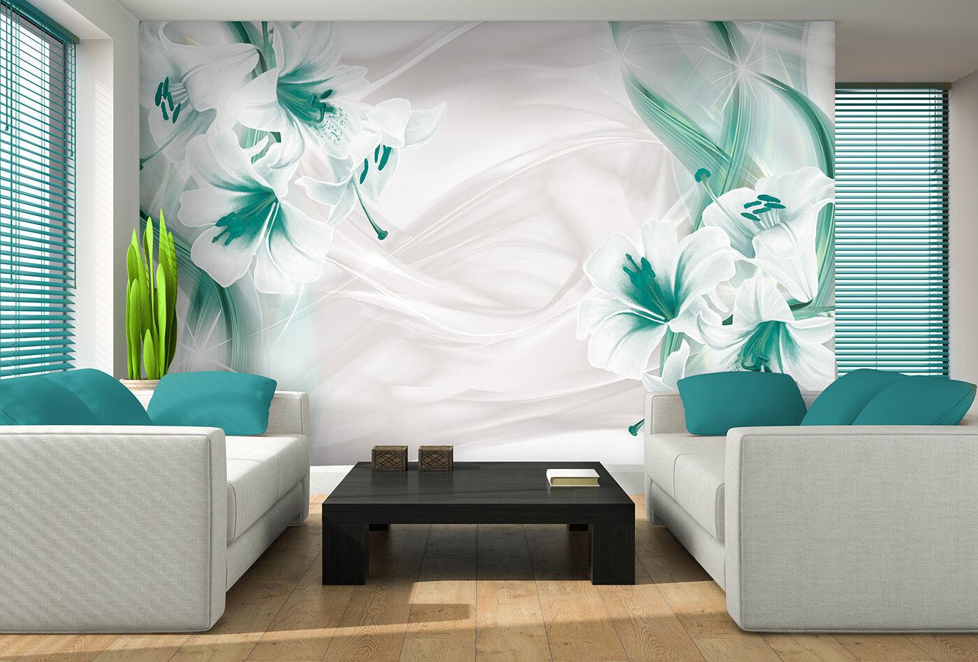 vlies poster wandbild tapeten fototapete gr n pflanzen. Black Bedroom Furniture Sets. Home Design Ideas