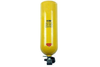 Scott 30min 2216psi Aluminum Air Bottle Reconditioned Air-pak Cylinder Scba