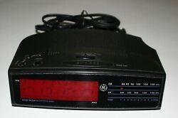 GE Model 7-4815A, Digital Alarm Clock AM/FM Radio
