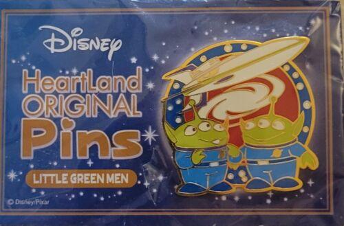 Disney Toy Story Little Green Men Aliens Heartland Original Pins LE 500 Pin