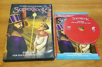 Superbook: Esther - For Such A Time As This (DVD) christian kids bible