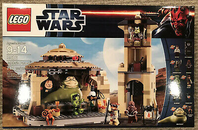 LEGO STAR WARS JABBA'S PALACE 9516 NEW IN SEALED BOX 2012 RELEASE