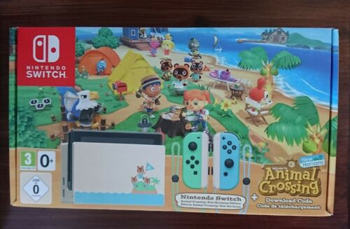 Nintendo Switch animal crossing Limited Edition Konsole new horizons usk 0