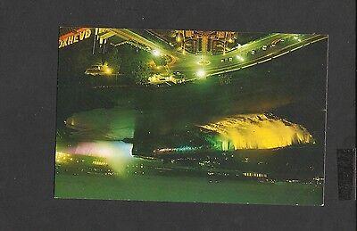 Vintage Colour Postcard Niagara Falls Illuminated Ontario Canada Unposted