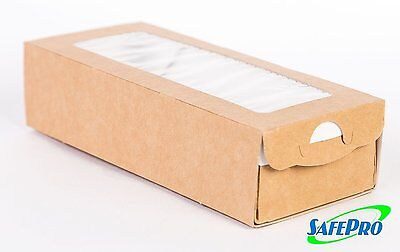 Safepro Ecocase500 Kraft Pastry-bakery Box With Insert 400-piece Case