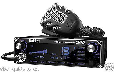 Uniden Bearcat 980 SSB 40 Channel CB Radio w/ Sideband  7 Color Display