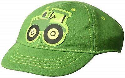 John Deere Green Tractor Baseball Hat Cap Infant 6-12 Month; 100% Cotton