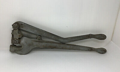 Vintage Whitney No. 2 Sheet Metal Hand Punch. W Die Tested Works Free Ship
