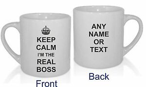 KEEP-CALM-IM-THE-REAL-BOSS-MUG-PERSONALISED-FUNNY-GIFT-NOVELTY-PRESENT-OFFICE