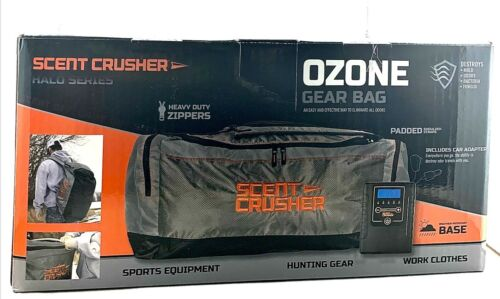Scent Crusher Halo Series Ozone Odor Block Sports/Hunting Gear Bag - 59357-GB