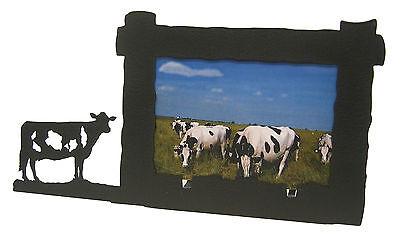 Holstein Cow Farm Picture Frame 4x6 H
