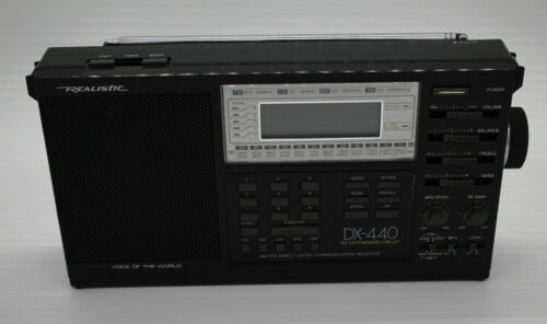 Realistic DX-440 Shortwave Radio Receiver AM/FM/SW/MW/LW Works