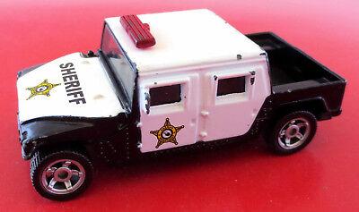 Siku Desert Lion Canyon Super Serie 1334 US Polizei Sheriff Hummer Pick up 2