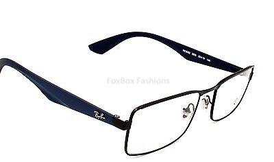 Ray Ban 6332 2503 Mens Eyeglasses Optical Frames Glasses Matte Black & Navy 53mm