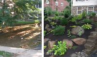 Kingston's most affordable landscaping and garden design