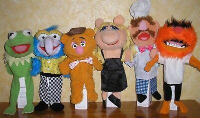 d7da96076c Muppet Show Muppets 6 Handpuppen Kermit Miss Piggy Animal Gonzo Stofftier  Plüsch gebraucht kaufen Viersen