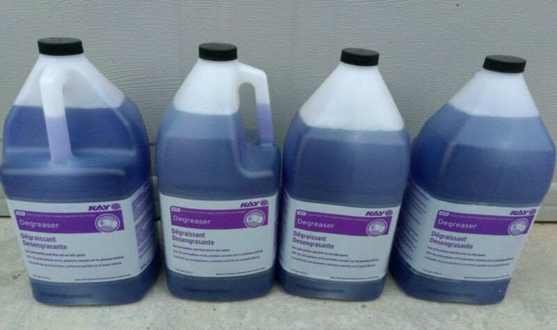 Case of 4 Gallons - Kay Degreaser Heavy Duty Commercial Industrial Ecolab QSR