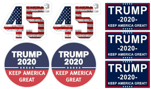 Trump 2020 Keep America Great Hard Hat Stickers (Pack of 7) 2 Inch