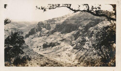1940  Kauai Hawaii Photo Waimea Canyon, Looking south