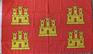Poitou-Charentes-France-Flag-5x3-French-Region-Francais-Heraldic-Medieval-bn