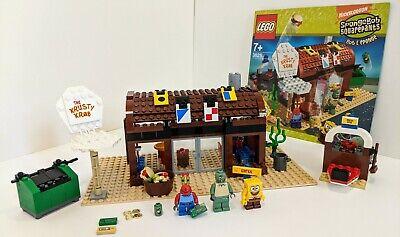 Lego SpongeBob SquarePants Krusty Krab (3825) 100% Complete set + manual!