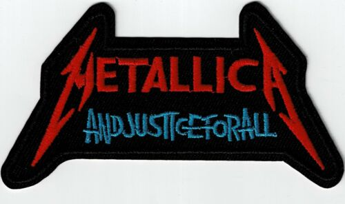 METALLICA - ...AND JUSTICE FOR ALL -  IRON or SEW ON PATCH
