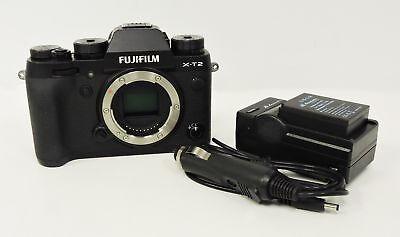 Fujifilm X-T2 Mirrorless Digital Camera - Black (Body Only)