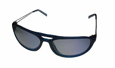Donald Trump Mens Sunglass Blue Plastic Aviator, Smoke Polarized Lens DTS 6  #3