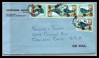 GP GOLDPATH: JAMAICA COVER 1961 AIR MAIL _CV676_P06