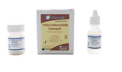 Cement For Crowns Bridges Inlays Etc. - Dental Polycarboxylate 010-036 Made Usa