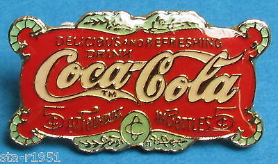 "Coca-Cola Pin ""Delicious and Refreshing""-Schild rechteckig #287"