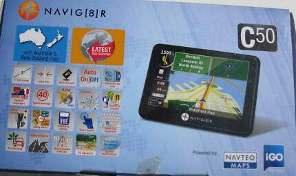 (New) Navig8r GPS - C50 - 5 Inch GPS with Aust/NZ Maps Minmi Newcastle Area Preview