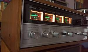 Vintage SANSUI QS-500 Quadphonic Synthesizer and Rear Channel Amp Campbelltown Campbelltown Area Preview