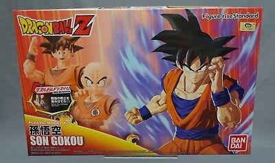 Figure-rise Standard Dragon Ball Z Son Goku Gokou Black hair Model kit Bandai **