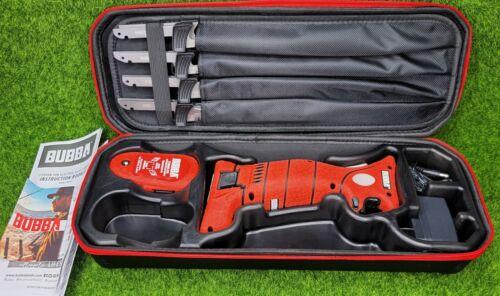 Bubba Multi-Flex Electric Fillet Knife Set, Full Tang, 4 Knives in 1 - 1095705