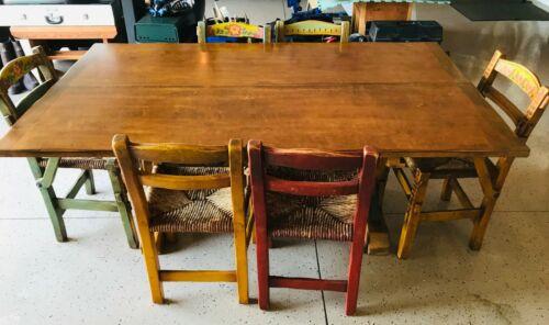 Antique Rancho California Monterey Coronado Table & Chairs  Rare and Vintage Set