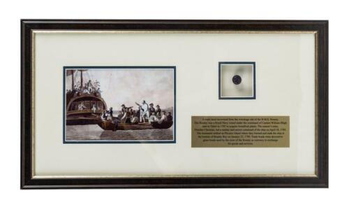Trade Bead Recovered from HMS Bounty Wreckage Site - Mutiny on the Bounty