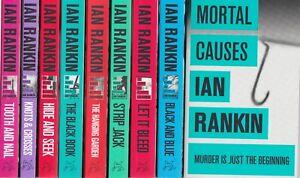 IAN RANKIN, REBUS THE FIRST 9 BOOKS, PAPERBACK, NEW