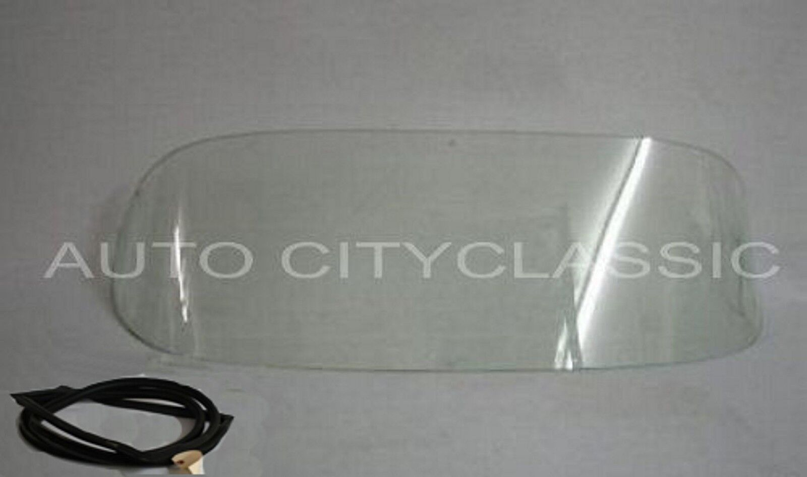 1956 to 1962 Chevrolet Corvette Windshield Glass Clear with Gasket